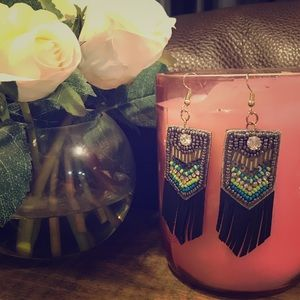 BOHO Style Vegan Leather Earrings ❤️